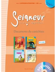 8-11 ans - Document du catéchiste orange + DVD - Modules 1 à 4