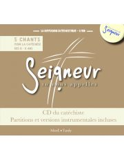 8-11 ans - CD du catéchiste marron + partitions - modules 9 à 12