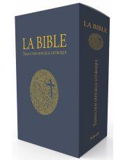 La Bible. Traduction officielle liturgique. Edition cadeau tranche dorée