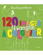 120 images de l'Evangile à colorier toute l'année