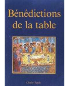 Bénédictions de la table