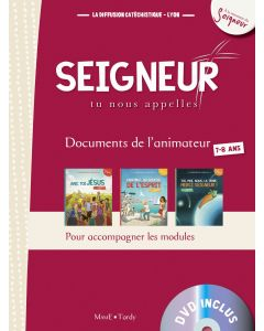 7-8 ans - Document animateur rouge +DVD - Modules 1 à 3