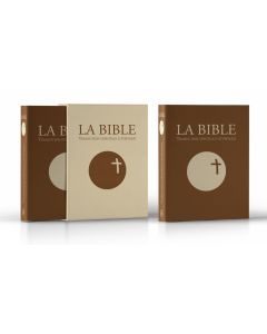 La Bible - Traduction officielle liturgique – cuir marron